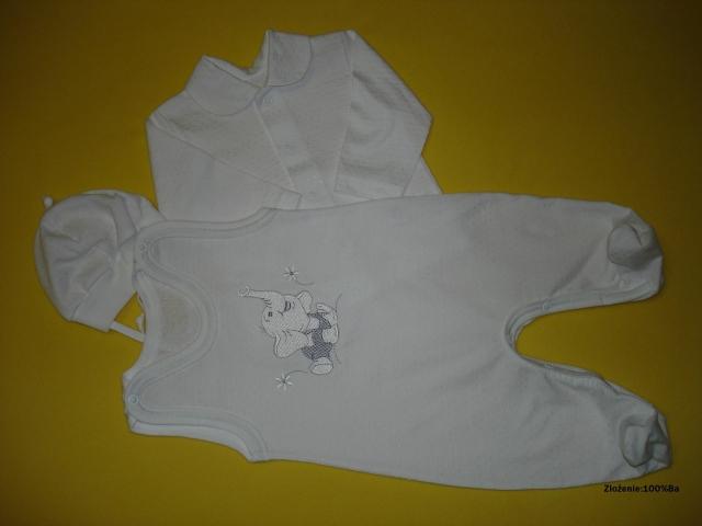 bavlnená súprva - sivý sloník