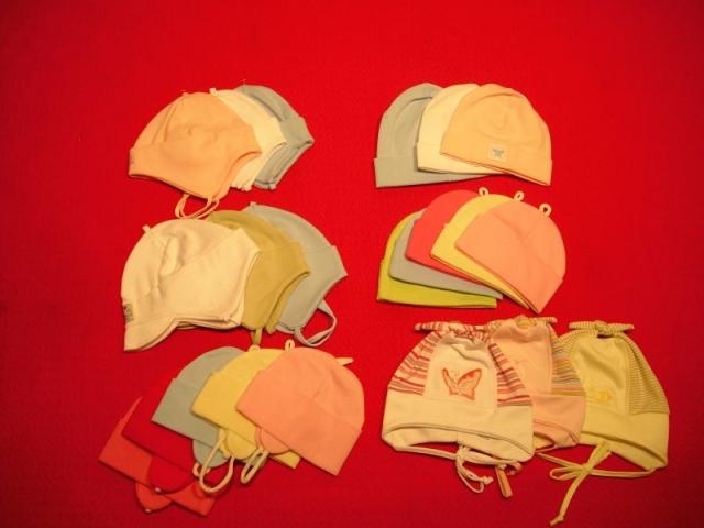 čiapky bavlnené (rôzne strihy)