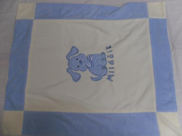 deka Milacik modra