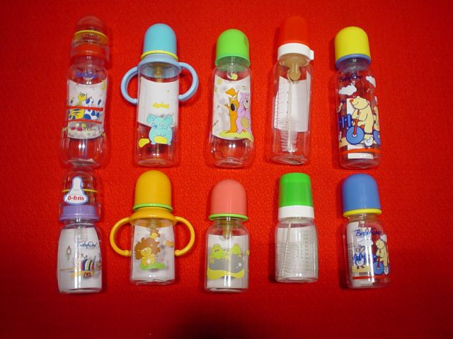 fľaše kojenecké