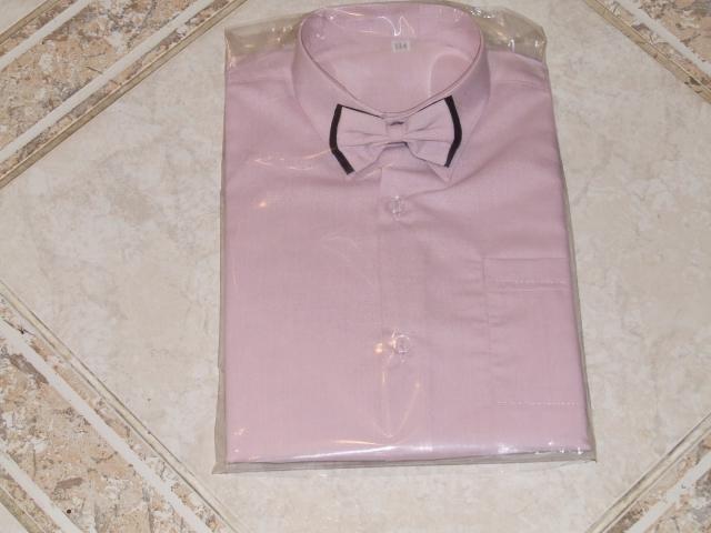 košeľa ružová motýľ