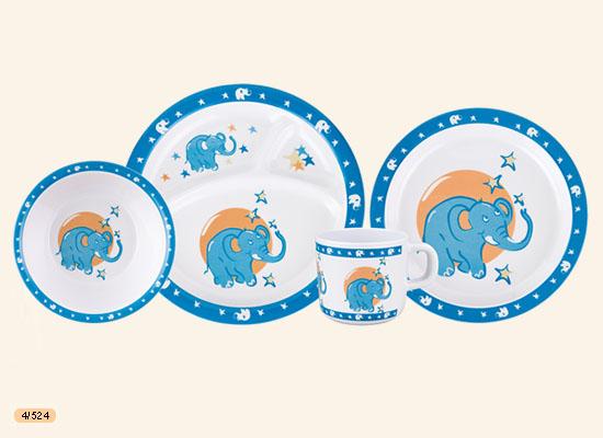 tanierová súprava modrá