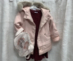 Flísový zimný kabát