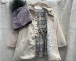 Kojenecký zimný kabát